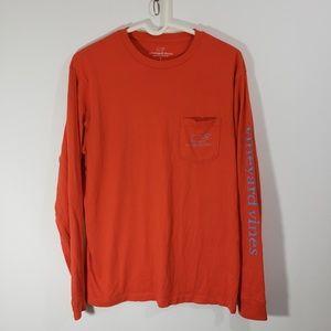 Vineyard Vines Men's Long Sleeved Tee Shirt Sz S